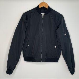 Vero Moda Black Bomber Jacket NWT, Sz Med
